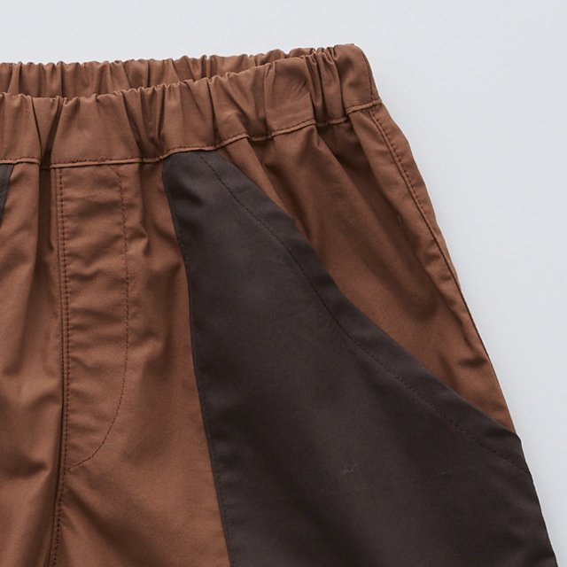 typwriter shorts brown img1
