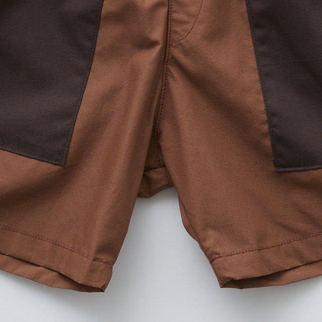 typwriter shorts brown img3