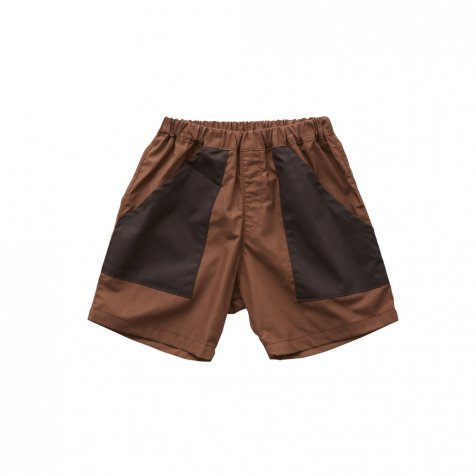 typwriter shorts brown
