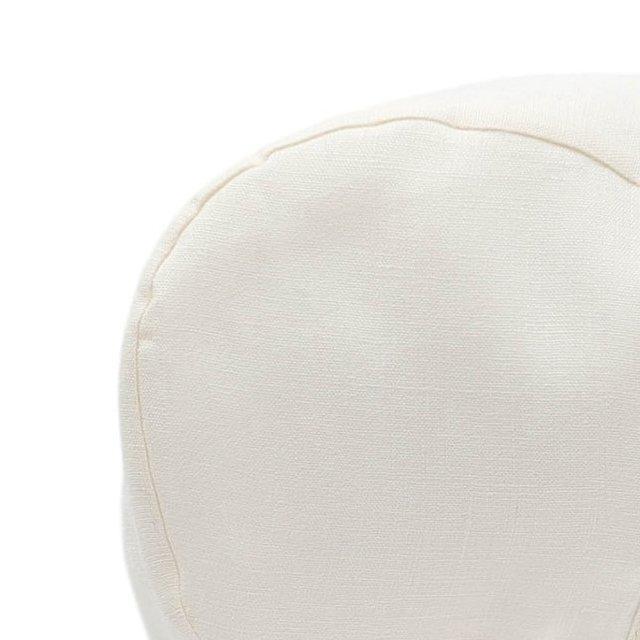 Brimmed Bonnet Ivory Linen img4