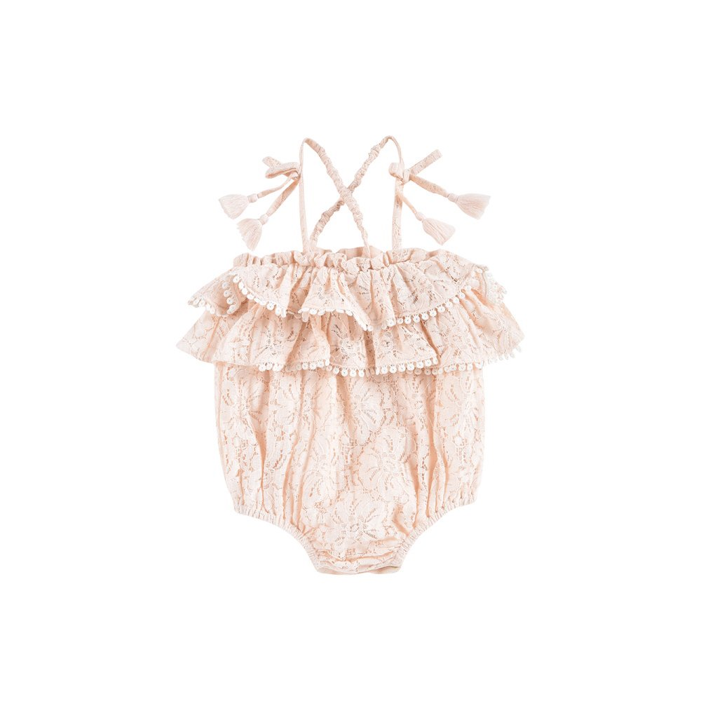 Rompers Kumal Blush Lace img1
