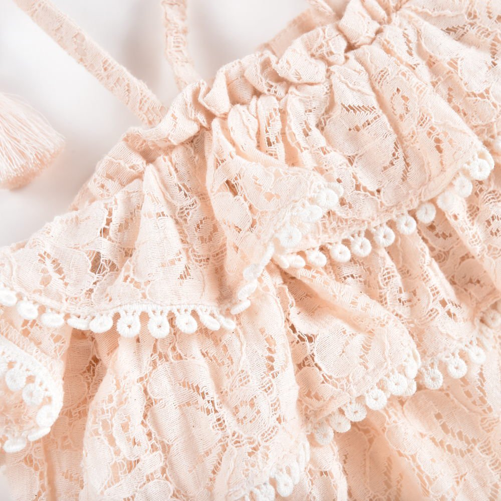 Rompers Kumal Blush Lace img3