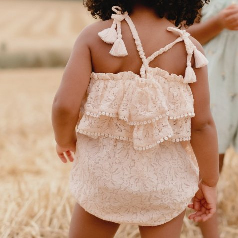 Rompers Kumal Blush Lace