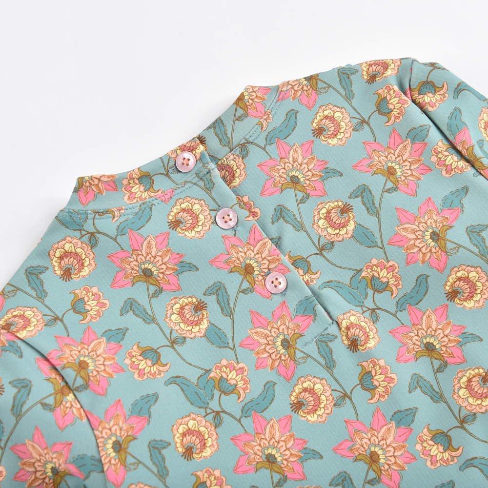 UV Protective Set Toluca Turquoise Flowers img9