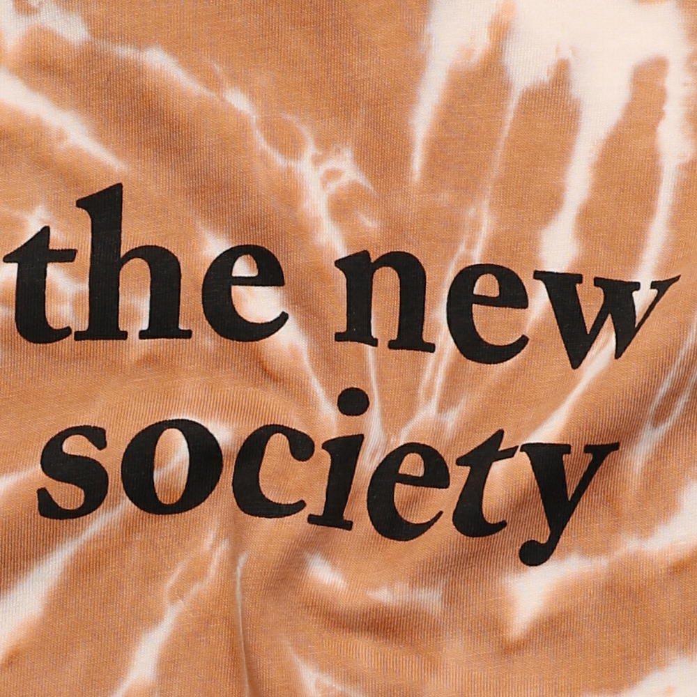 THE NEW SOCIETY TEE CARAMEL img3