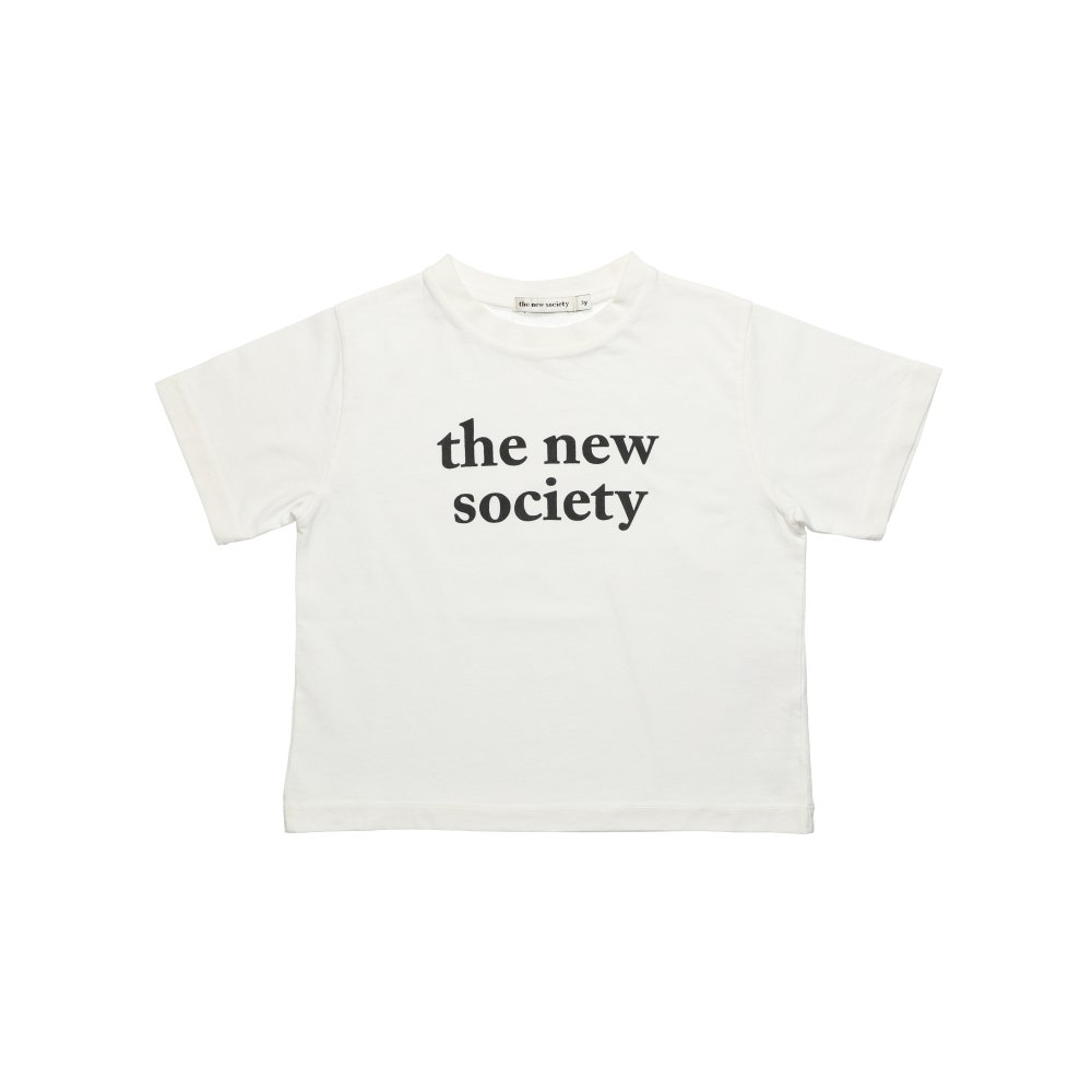 【20%OFF】THE NEW SOCIETY TEE OFF WHITE img1