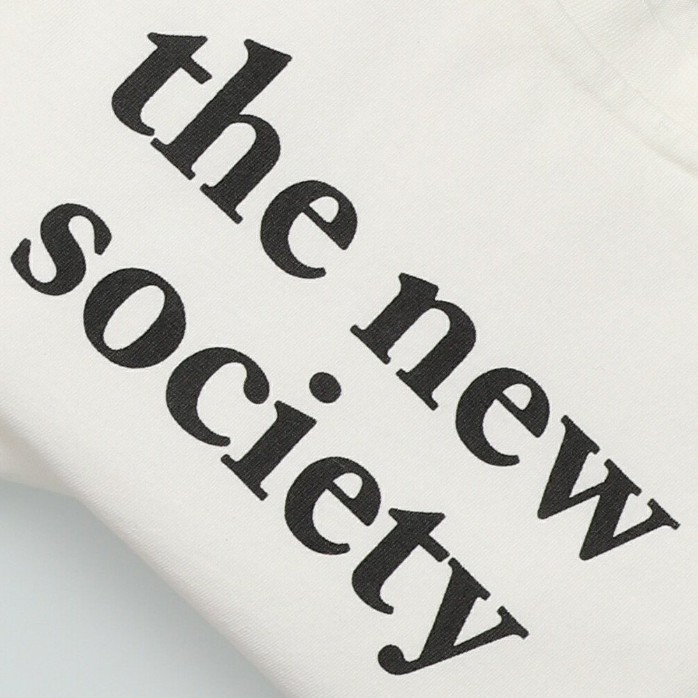 【20%OFF】THE NEW SOCIETY TEE OFF WHITE img3
