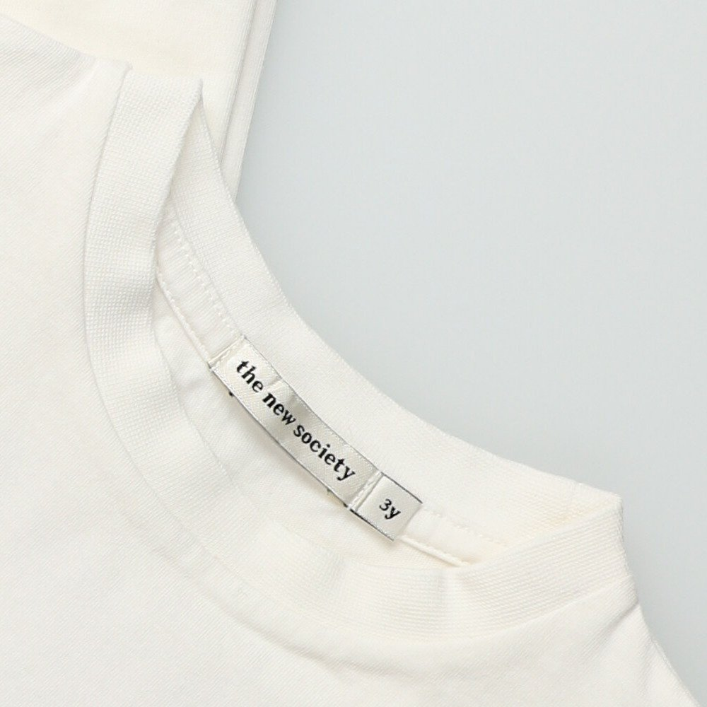 【20%OFF】THE NEW SOCIETY TEE OFF WHITE img4