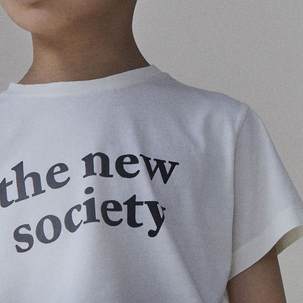 【20%OFF】THE NEW SOCIETY TEE OFF WHITE img7