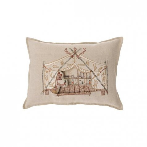 Bear Apothecary Tent Pocket Pillow (Cover Only)