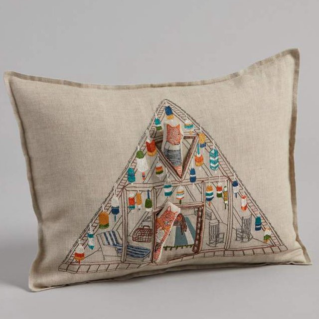 Fox Beach Shack Pocket Pillow (Cover Only) img3