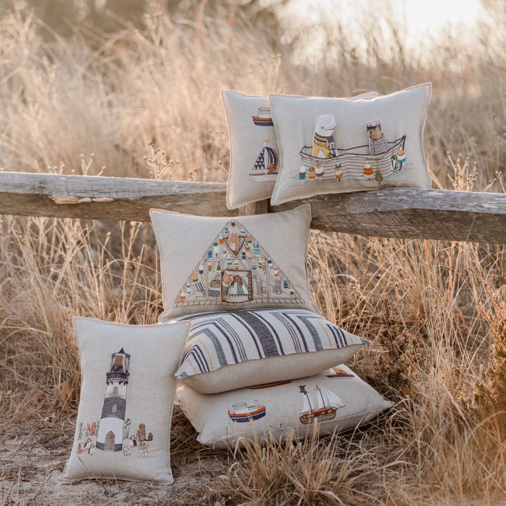 Fox Beach Shack Pocket Pillow (Cover Only) img5