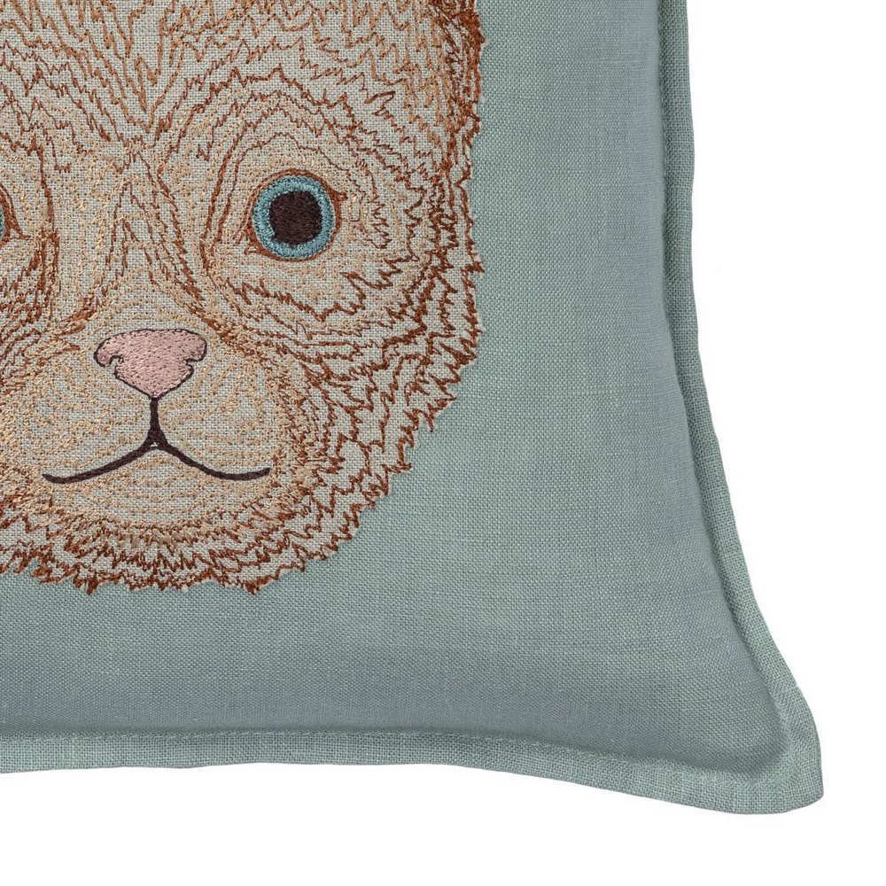 Kitten Applique Pillow (Cover Only) img2