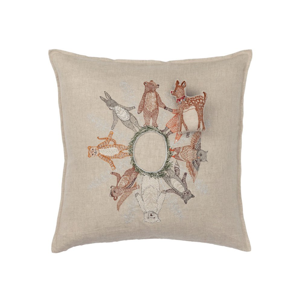 Animal Snowflake Pocket Pillow (Cover Only) img1