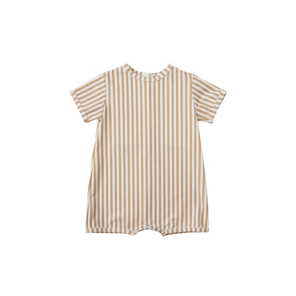 striped shorty onepiece almond img