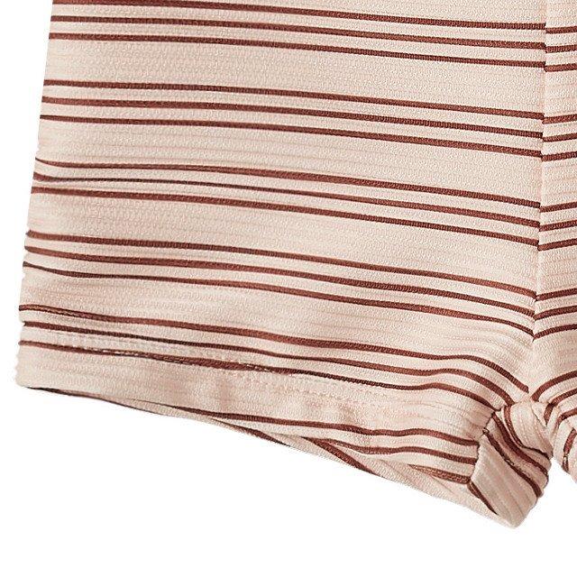 striped rashguard boy set amber-shell img6