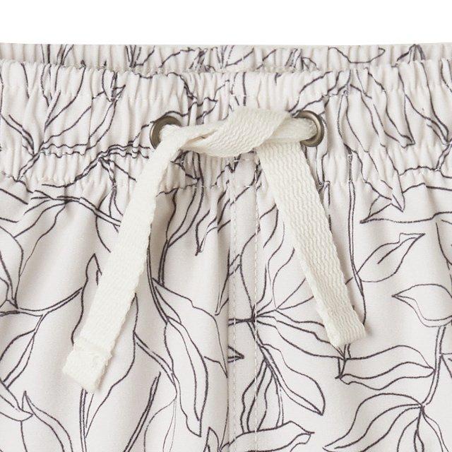 fern swim trunk ivory img1