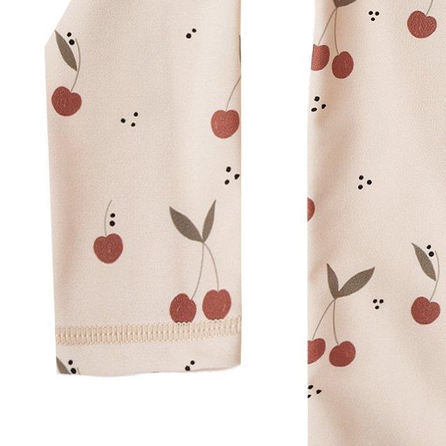 cherries rashguard girl set shell img2