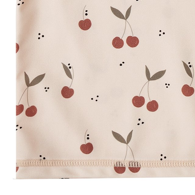 cherries rashguard girl set shell img4