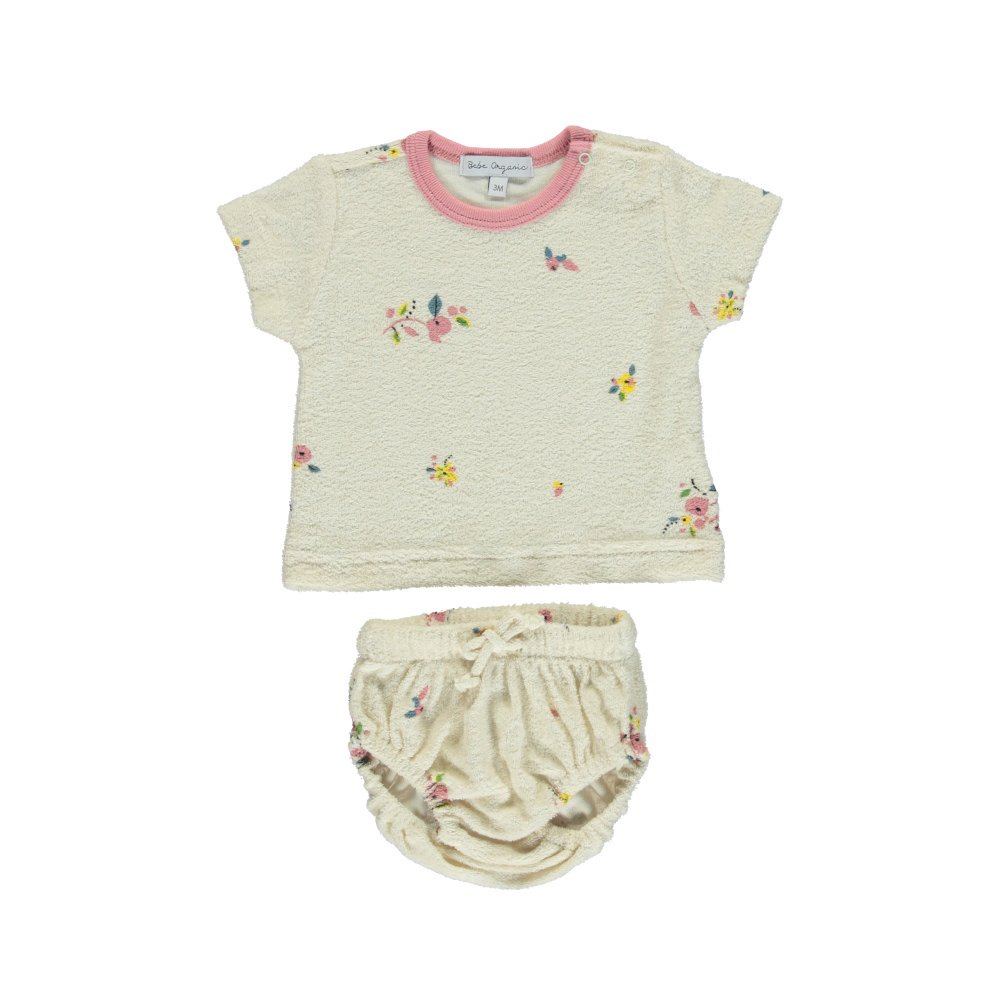 Bea Baby Set Natural Flowers img