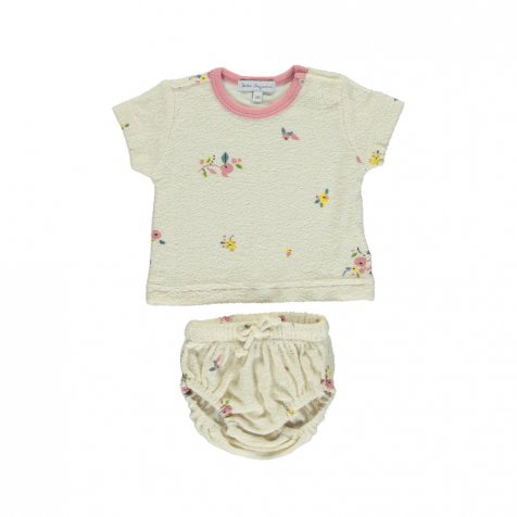 Bea Baby Set Natural Flowers