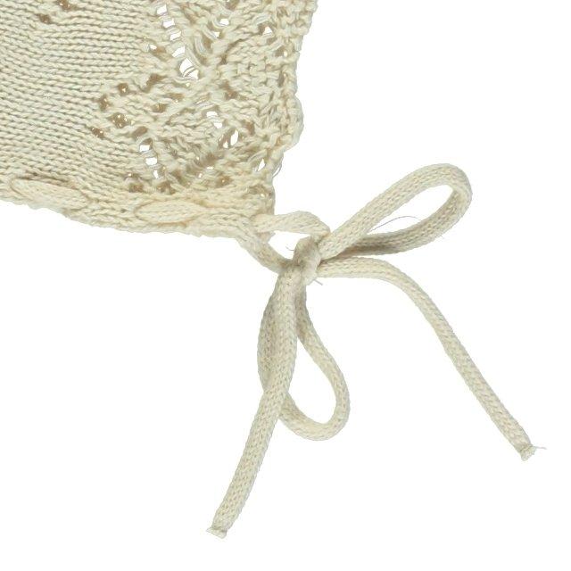 Summer Baby Bonnet Natural img3