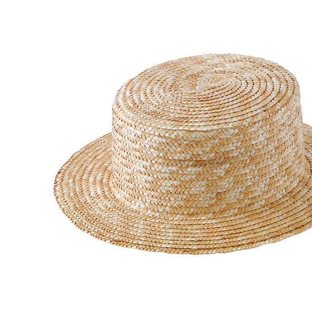 Canotier 35 Hat no ribbon Kid / Adult img1