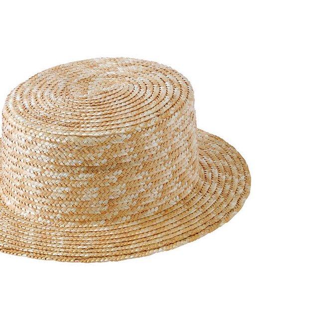 Canotier 35 Hat no ribbon Kid / Adult img2