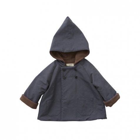 【7/21正午販売開始】【8月入荷次第発送】elf coat blue gray