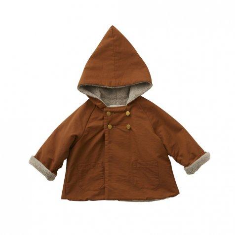【7/21正午販売開始】【8月入荷次第発送】elf coat brown