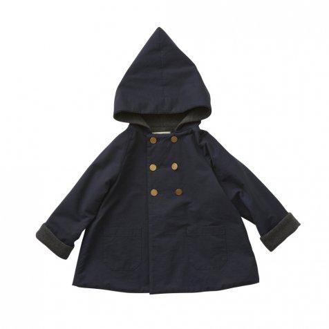 【7/21正午販売開始】【8月入荷次第発送】elf coat navy