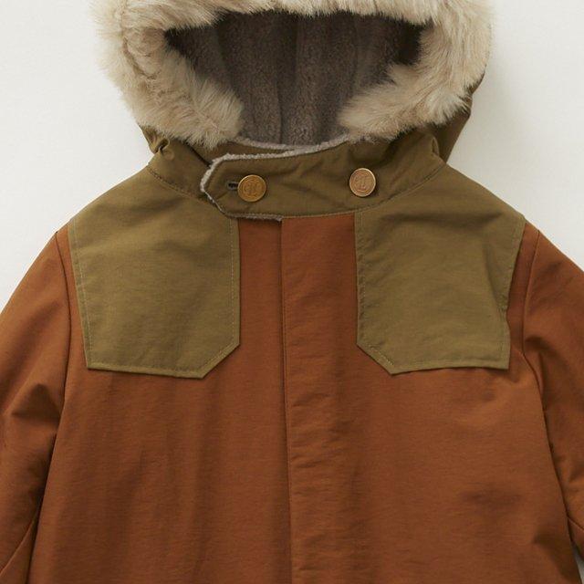 high lander coat brown img4