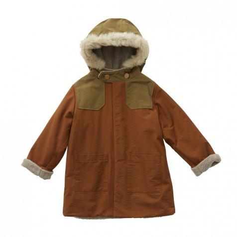 【7/21正午販売開始】【8月入荷次第発送】high lander coat brown