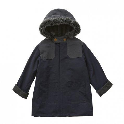 【7/21正午販売開始】【8月入荷次第発送】high lander coat navy