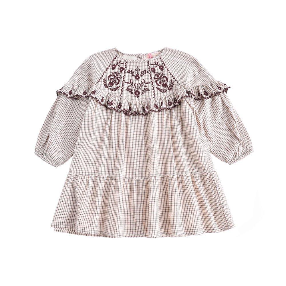 Dress Melody Cream Check img