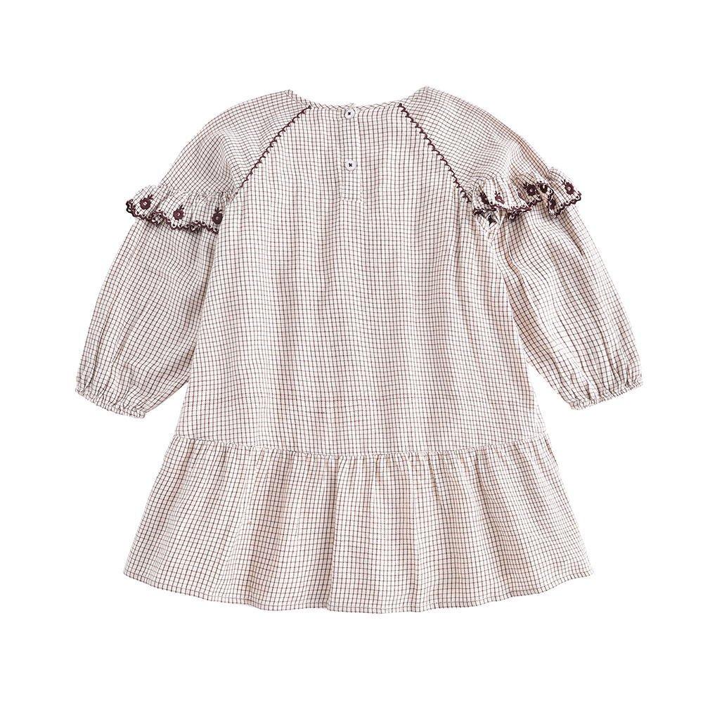 Dress Melody Cream Check img1