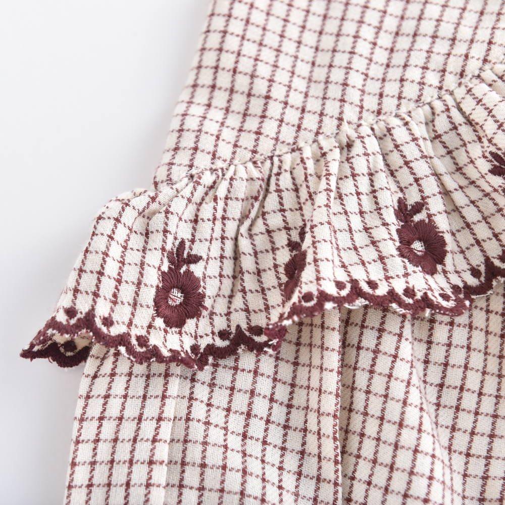 Dress Melody Cream Check img5