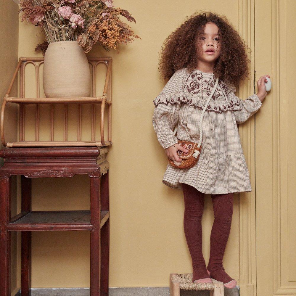 Dress Melody Cream Check img6