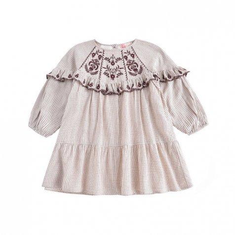 Dress Melody Cream Check