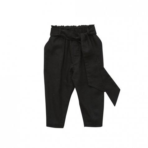 【ご予約受付・お届けは1月〜2月】Ceremony Ribbon pants black