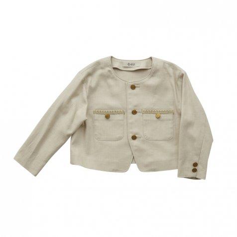 【ご予約受付・お届けは1月〜2月】Ceremony CHANEL jacket beige