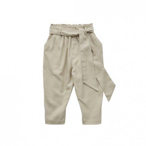 【ご予約受付・お届けは1月〜2月】Ceremony Ribbon pants beige