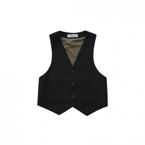 【ご予約受付・お届けは1月〜2月】Ceremony vest black