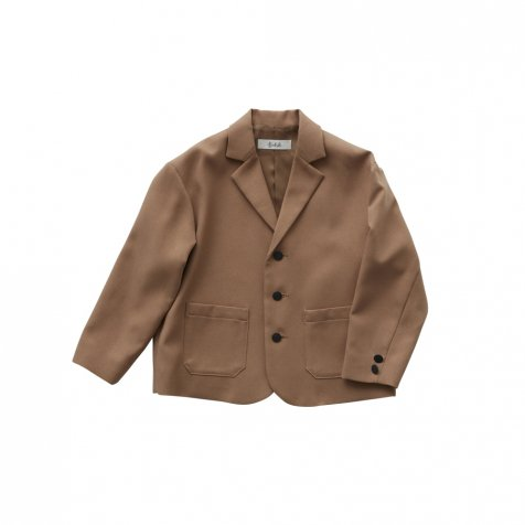 【ご予約受付・お届けは1月〜2月】Ceremony tailored box jacket camel