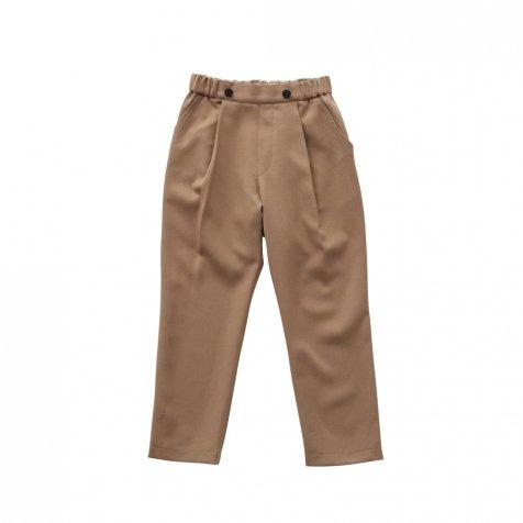 【ご予約受付・お届けは1月〜2月】Ceremony pants camel