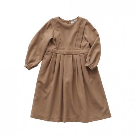 【ご予約受付・お届けは1月〜2月】Ceremony dress camel