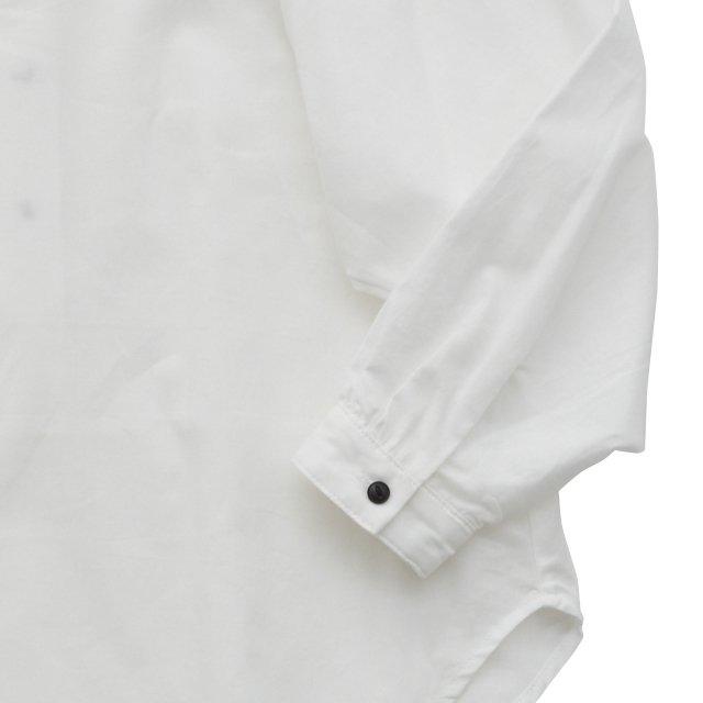 【ご予約受付・お届けは1月〜2月】Ruffled collar blouse white img2