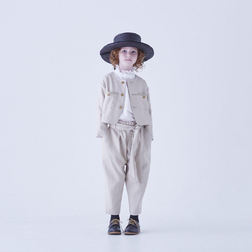 【ご予約受付・お届けは1月〜2月】Ruffled collar blouse white img7