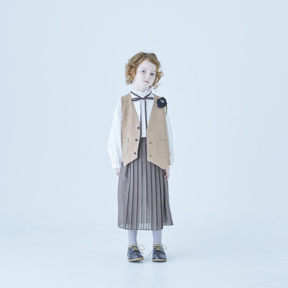 【ご予約受付・お届けは1月〜2月】Ruffled collar blouse white img9