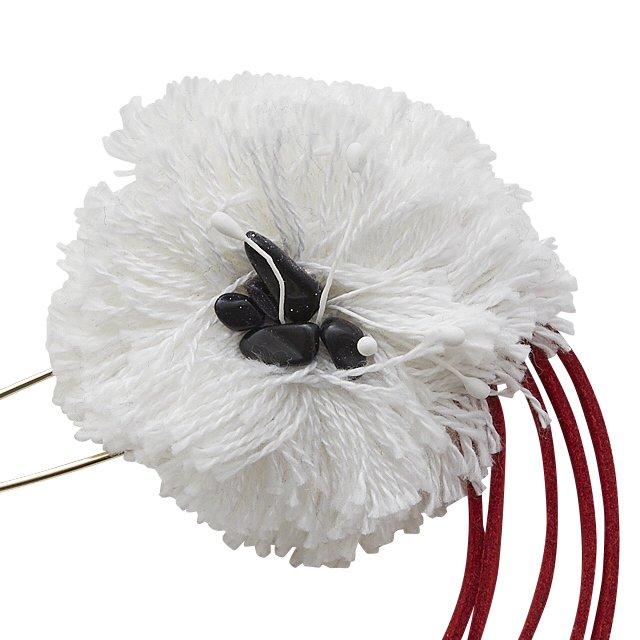 【ご予約受付・お届けは1月〜2月】Flower corsage white img2